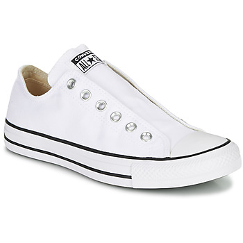 Shoes Women Slip-ons Converse Chuck Taylor All Star Slip Core Basics White
