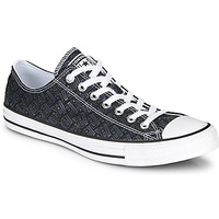Shoes Men Hi top trainers Converse CHUCK TAYLOR ALL STAR LOGO PLAY Black