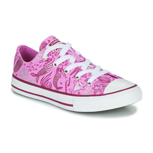 Shoes Girl Hi top trainers Converse CHUCK TAYLOR ALL STAR UNDERWATER PARTY Pink / Multi