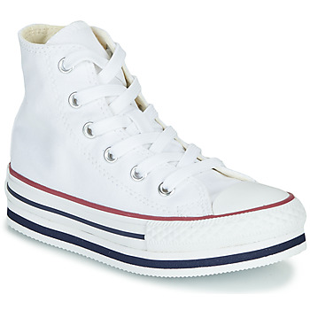 Shoes Girl Hi top trainers Converse CHUCK TAYLOR ALL STAR PLATFORM EVA EVERYDAY EASE White