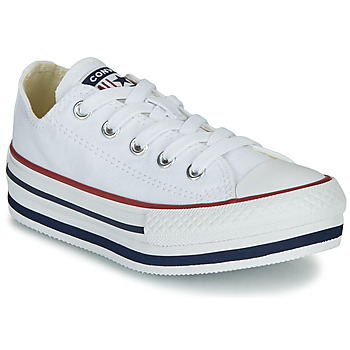 Shoes Girl Low top trainers Converse CHUCK TAYLOR ALL STAR PLATFORM EVA EVERYDAY EASE White
