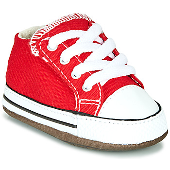 Shoes Children Hi top trainers Converse CHUCK TAYLOR ALL STAR CRIBSTER CANVAS COLOR Red