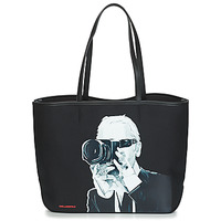 Bags Shopping Bags / Baskets Karl Lagerfeld KARL LEGEND PHOTOGRAPHER Black