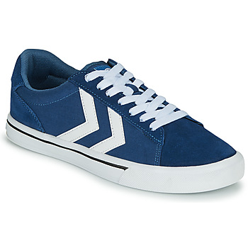 Shoes Low top trainers Hummel NILE CANVAS LOW Blue