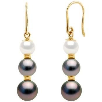 Watches Women Earrings Blue Pearls BPS K623 W Gold