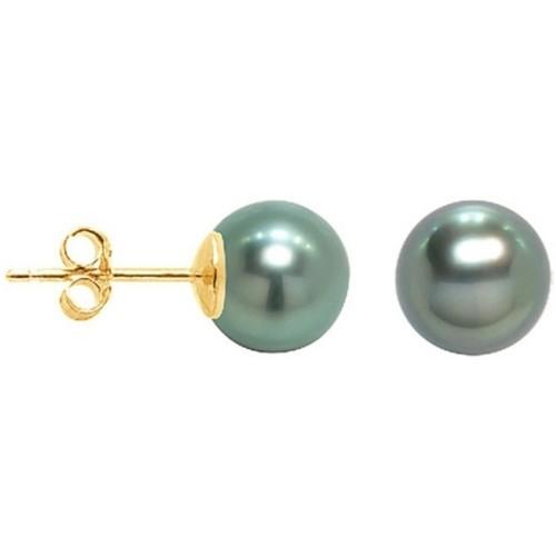 Watches Women Earrings Blue Pearls BPS K620 W Gold