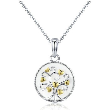 Watches & Jewellery  Women Pendants Blue Pearls CRY C2050 J White