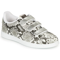 Shoes Women Low top trainers Victoria TENIS SERPIENTE VELCRO Grey