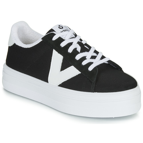 Shoes Women Low top trainers Victoria BARCELONA DEPORTIVO Black / White