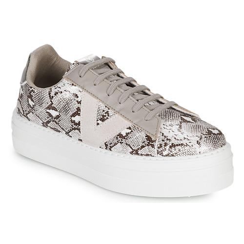 Shoes Women Low top trainers Victoria BARCELONA DEPORTIVO Grey