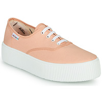 Shoes Women Low top trainers Victoria DOBLE LONA Coral