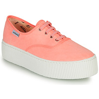 Shoes Women Low top trainers Victoria DOBLE FLUO Coral