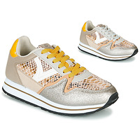 Shoes Women Low top trainers Victoria COMETA SERPIENTE Beige