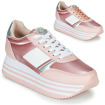 Shoes Women Low top trainers Victoria COMETA DOBLE METAL Pink