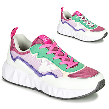 Shoes Women Low top trainers Victoria ARISTA REJI White / Purple