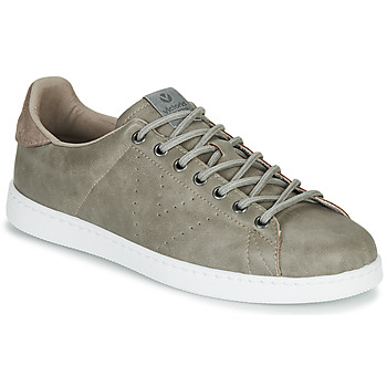 Shoes Men Low top trainers Victoria TENIS PU Grey