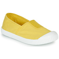 Shoes Girl Low top trainers Victoria CAMPING TINTADO Yellow
