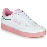 Shoes Women Low top trainers Reebok Classic CLUB C 85 White / Pink