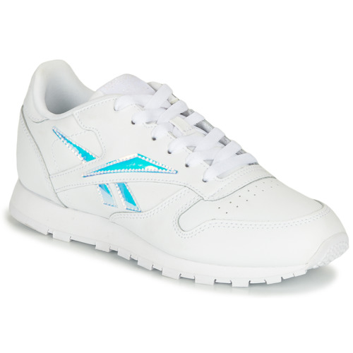 Shoes Girl Low top trainers Reebok Classic CLASSIC LEATHER White