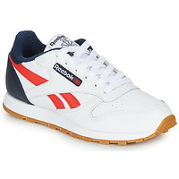 Shoes Boy Low top trainers Reebok Classic CLASSIC LEATHER White