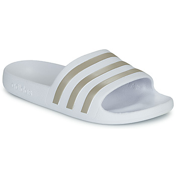 Shoes Women Tap-dancing adidas Performance ADILETTE AQUA White