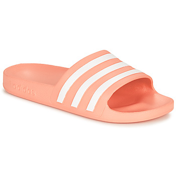 Shoes Women Tap-dancing adidas Performance ADILETTE AQUA Pink