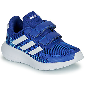 Shoes Boy Low top trainers adidas Performance TENSAUR RUN C Blue / White
