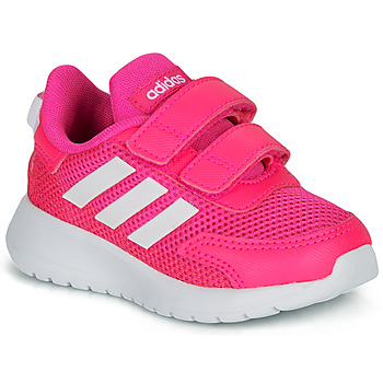 Shoes Girl Low top trainers adidas Performance TENSAUR RUN I Pink / White
