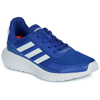 Shoes Boy Low top trainers adidas Performance TENSAUR RUN K Blue / White