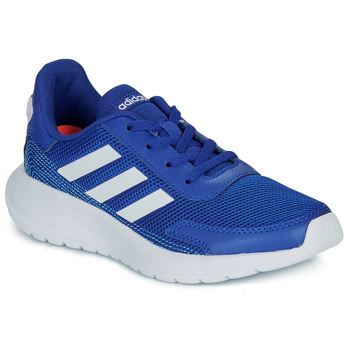 Shoes Boy Low top trainers adidas Performance TENSAUR RUN K Blue / White