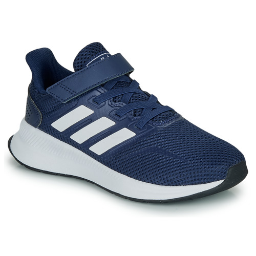 Shoes Children Low top trainers adidas Performance RUNFALCON C Marine