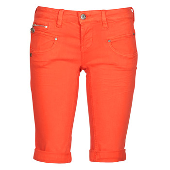 Clothing Women Shorts / Bermudas Freeman T.Porter BELIXA NEW MAGIC COLOR Orange