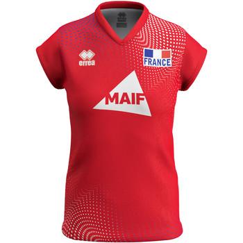 Clothing Women Short-sleeved t-shirts Errea Maillot femme third Equipe de france 2020 rouge