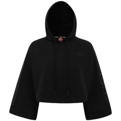 Clothing Women Sweaters Kappa Sweatshirt femme  Authentic Allas noir
