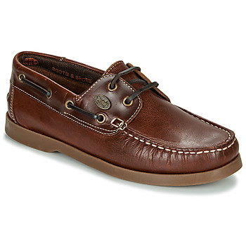Shoes Men Boat shoes Dockers by Gerli 21DC001-410 Brown