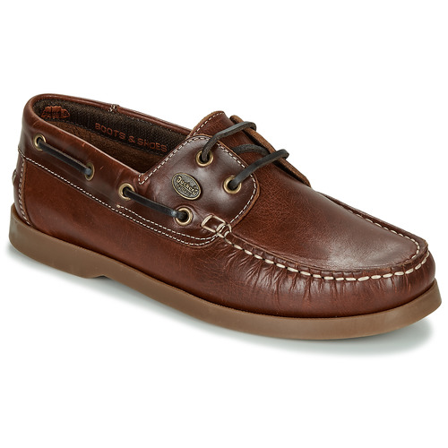 Shoes Men Derby Shoes Dockers by Gerli 21DC001-410 Brown