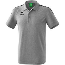 Clothing Short-sleeved polo shirts Erima Polo  5-C Essential gris