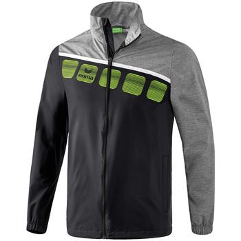 Clothing Men Track tops Erima Veste  tous temps 5-C noir/gris/blanc