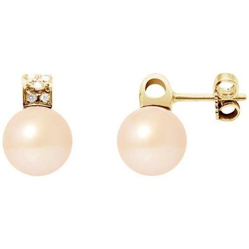 Watches Women Earrings Blue Pearls BPS K627 W Multicolored