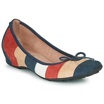 Shoes Women Flat shoes Mam'Zelle FLUTE Blue / Beige / Bordeaux