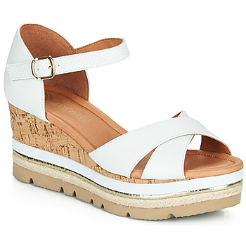 Shoes Women Sandals Mam'Zelle PANDI White