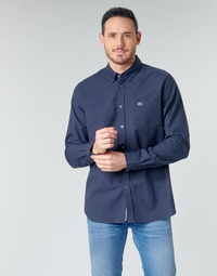 Clothing Men Long-sleeved shirts Lacoste ANNIE Marine