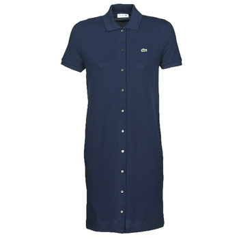Clothing Women Short Dresses Lacoste ALYSSA Marine