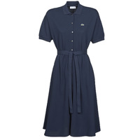 Clothing Women Long Dresses Lacoste JINNY Marine