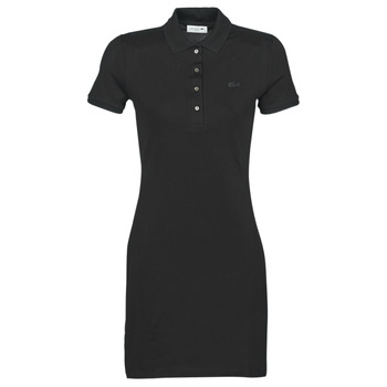 Clothing Women Short Dresses Lacoste  Black