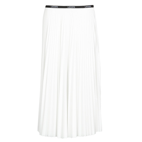 Clothing Women Skirts Lacoste ALEXA White