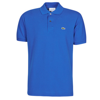 Clothing Men short-sleeved polo shirts Lacoste POLO L12 12 REGULAR Blue / King