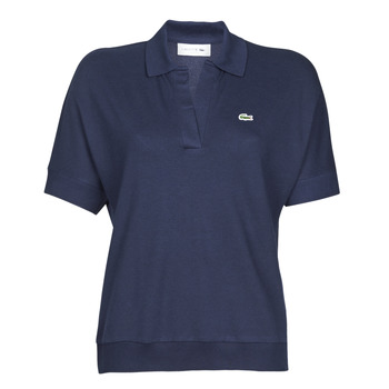 Clothing Women short-sleeved polo shirts Lacoste FABIAN Marine