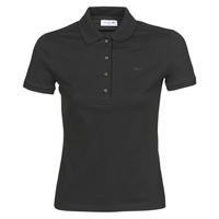 Clothing Women short-sleeved polo shirts Lacoste PH5462 SLIM Black