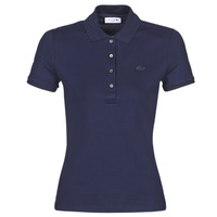Clothing Women Short-sleeved polo shirts Lacoste PH5462 SLIM Marine